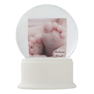 Baby Birth Personalize Snow Globe