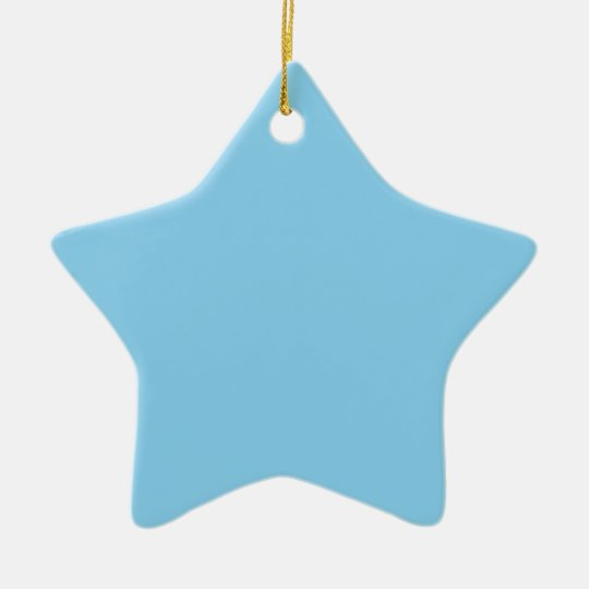 Baby Blue Christmas Ornament