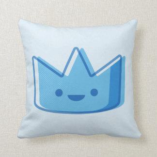 Baby Blue Crown Cushion