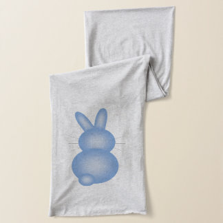 Baby Blue Easter Bunnies Scarf