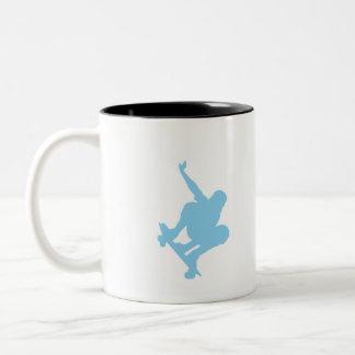 Baby Blue Skater Mug