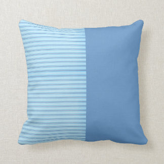 Baby Blue Stripes Cushion