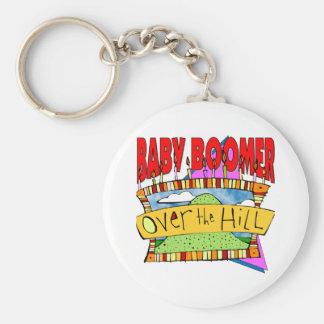 Baby Boomer Birthdays Key Ring