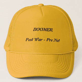 Baby Boomer cap for Gramps.