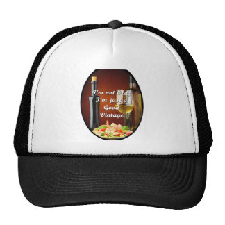 Baby Boomer Hat for Wine Lovers