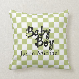 Baby Boy Baby Room Pillow