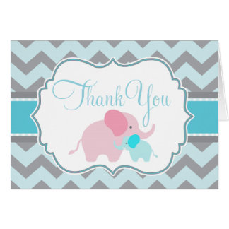 Baby Boy Baby Shower Thank You Notes