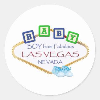 Baby BOY from Las Vegas Stickers
