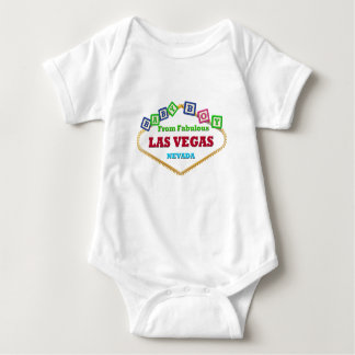 Baby Boy Las Vegas Blocks T-Shirt