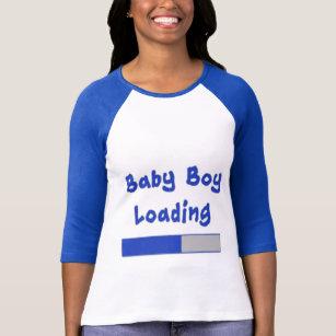 1c1ee195b65e1 Baby Boy Loading Maternity Humor T-Shirt