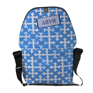 Baby Boy Print Courier Bag
