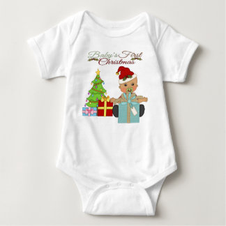 Baby Boy's 1st Christmas Infant Creeper