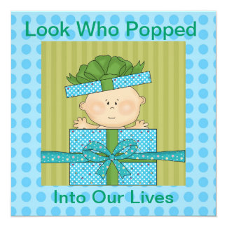 Baby Boys Announcement   or Invitaiton for All