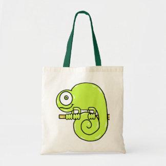 Baby Chameleon Tote Bag