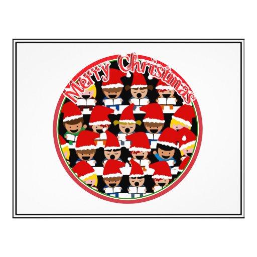 Baby Christmas Choir  - Merry Christmas Flyer
