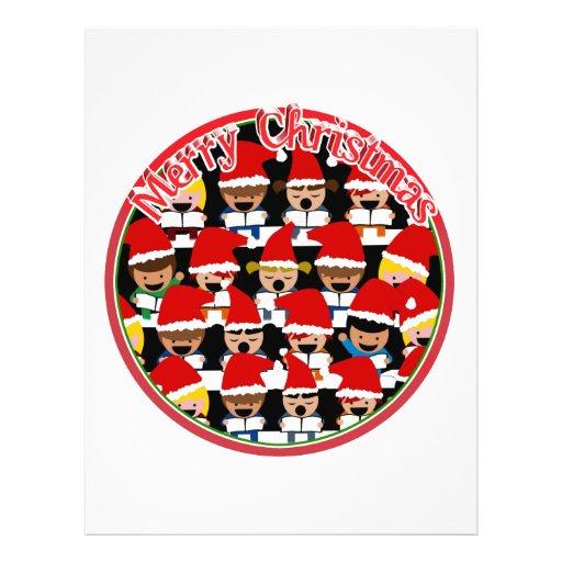 Baby Christmas Choir  - Merry Christmas Full Color Flyer