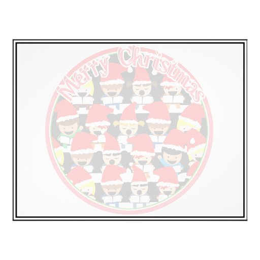 Baby Christmas Choir  - Merry Christmas Personalized Flyer