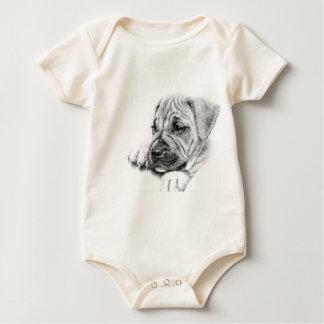 Baby clothes,Dog print. Baby Bodysuit