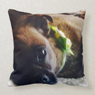 Baby D Throw Pillow