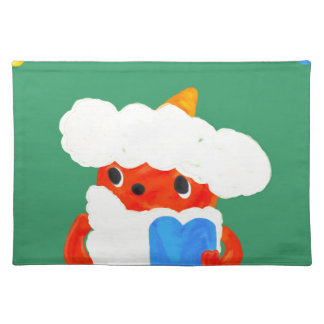 Baby demon place mat