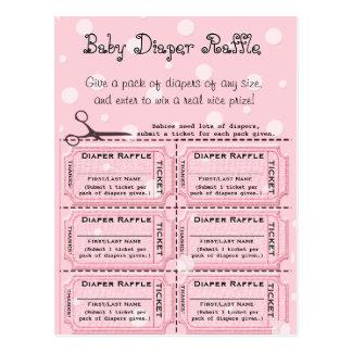 Baby Diaper Raffle Tickets