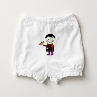 Baby diapers with Zombie Nappy Cover