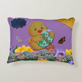 Baby Easter Chic Decorative Cushion