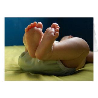 Baby Feet Dreams Card