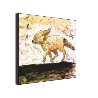 Baby Fennec Fox Print