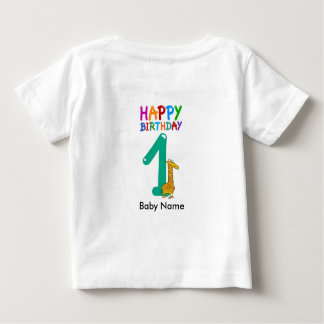 Baby First Anniversary T-Shirt 1st Birthday
