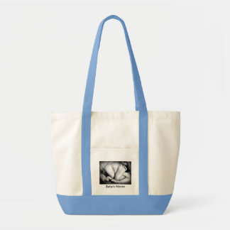 Baby Footprints Personalized Bag