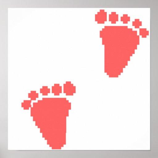 baby footprints print