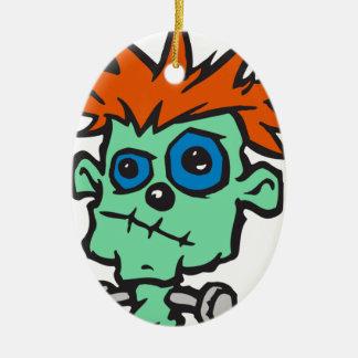 Baby Frankenstein Christmas Ornament