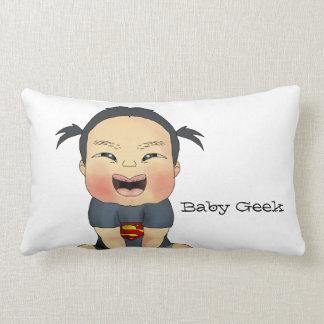 Baby Geek (Girl) Lumbar Pillow