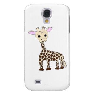 Baby Giraffe Samsung Galaxy S4 Covers