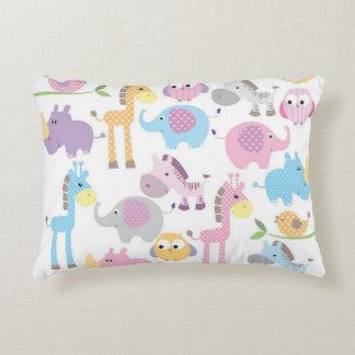 Baby Girl Animals Decorative Cushion