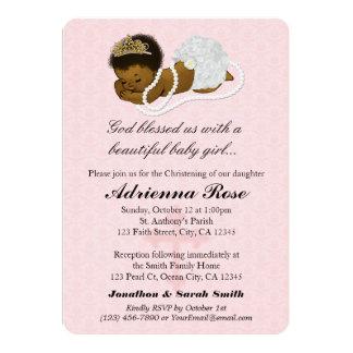 Baby Girl Baptism Christening Invitations PINK 183