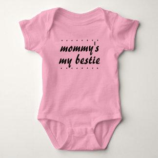 Baby Girl Mother Daughter Mummy's my Bestie BFF Baby Bodysuit