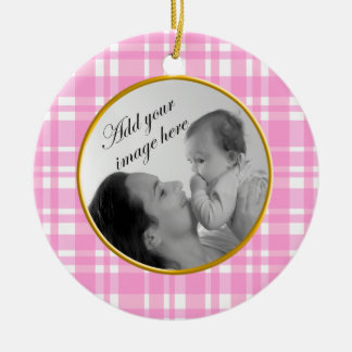 Baby Girl Photo Ornament