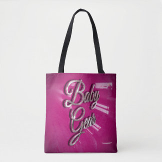 Baby Girl Pink Gear Tote Bag