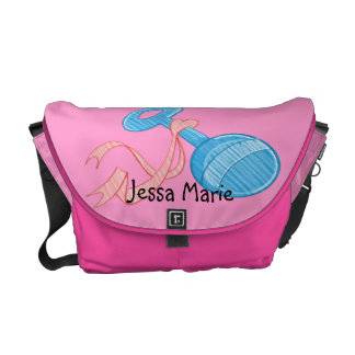Baby Girl Rattle Baby Diaper Bag Commuter Bag