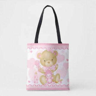 Baby Girl Tote Bag