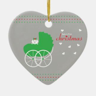 Baby Girl's First Christmas Christmas Ornament