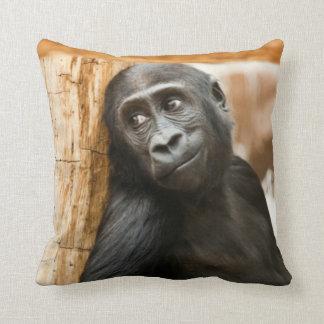Baby gorilla Cushion