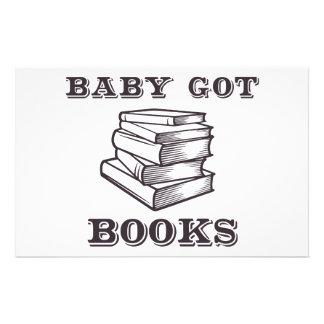 Baby Got Books Stationery