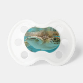 Baby Green Sea Turtle BooginHead Pacifier
