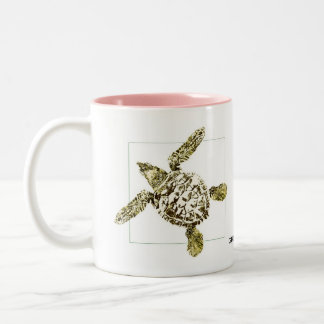 Baby Green Sea Turtle Coffee Mug