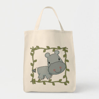 Baby Hippo T-shirts and Gifts Tote Bag