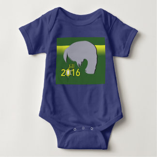 Baby Jersey Bodysuit Jill 2016 Graphic