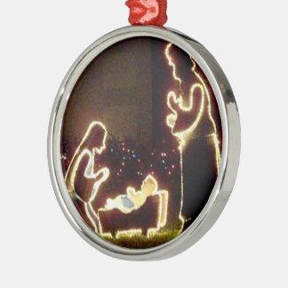 Baby Jesus Nativity Manger Christmas Tree Ornament